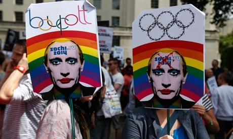 Sochi 2014 protest