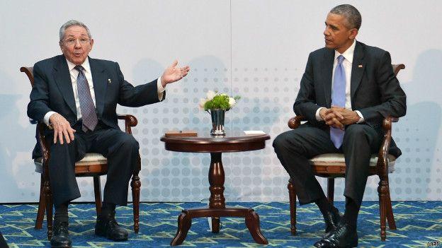 Panama, Castro, Obama