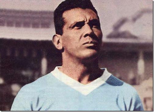 Obdulio Varela, Capitano dell'Uruguay campione del mondo 1950 battendo il Brasile al Maracanà