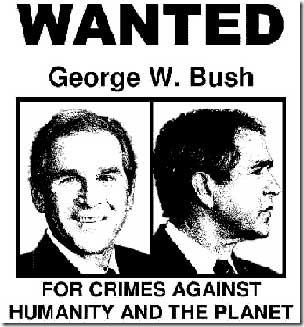 bush-wanted